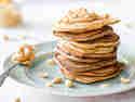Low Carb Pancakes mit Erdnussbutter