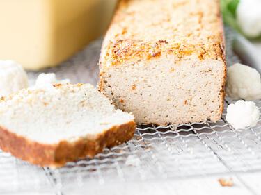Low-Carb-Blumenkohl-Brot