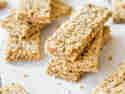 Chia-Erdnussbutter-Müsliriegel