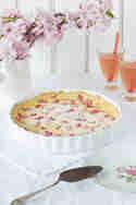 Rhabarber-Pudding-Tarte © Emmas Lieblingsstücke