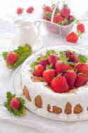 Erdbeer-Rhabarber-Kuchen © herzelieb