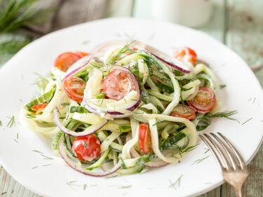 Cremiger Gurken-Dill-Salat
