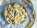 Klassischer Nudelsalat mit Mayo - wie von Oma