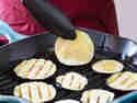 Aubergine in Grillpfanne anbraten