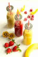 Frisch-fruchtige Smoothies - schnell gemixt mit dem Revoblend RB 500 © Die Feinschmeckerin