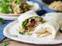 Vegane Burritos mit Grillgemüse und Quinoa