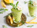 Mango-Smoothie mit grünem Tee