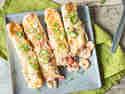 Enchiladas mit Shrimp-Füllung
