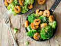Garnelen-Brokkoli-Pfanne