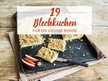Unsere 19 Besten Rezepte Fur Blechkuchen