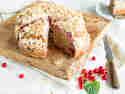 Krümelmonster aufgepasst: Johannisbeer-Crumble mit Joghurt
