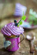 Very Berry Blueberry Cupcakes © Mari e Ola