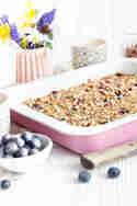 Baked Oatmeal mit Heidelbeeren © Maras Wunderland
