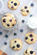 Blueberry Coconut Cookies © Maras Wunderland