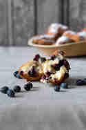 Frittierte Blaubeerbällchen © Ich machs mir einfach