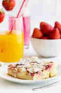 Erdbeer-Nektarinen-Blechkuchen © Maras Wunderland