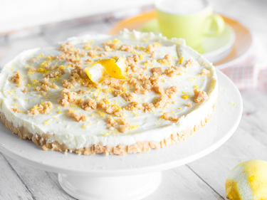 Fur Deinen Kuchensommer Philadelphia Torte Mit Zitrone