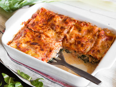 Spinat Ist Raus Saftige Mangold Ricotta Lasagne