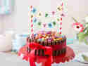 Kitkat Geburtstagskuchen