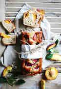Pfirsich-Rührkuchen © Backstübchen