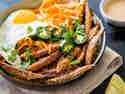 Vietnamesische Süßkartoffel-Pommes Bánh-Mì-Style