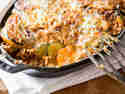 Zucchini-Moussaka mit Süßkartoffel