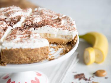 Banane Plus Toffee Das Macht Banoffee Cake