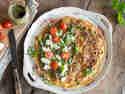 Tomaten-Pesto-Omelett