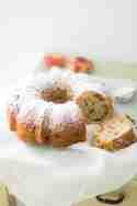 Kokos-Pekan-Pfirsichkuchen © Andrea Natschke | Zimtkeks und Apfeltarte
