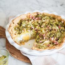 Bacon Pie mit Pesto_featured