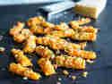 Geröstete Parmesan-Karotten