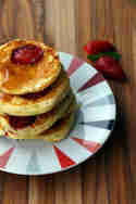 Erdbeer-Pancakes © Transglobal Pan Party
