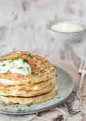 Kräuter-Pancakes © Kleines Kulinarium