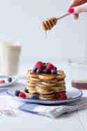 Pancakes mit Beeren © Frisch verliebt
