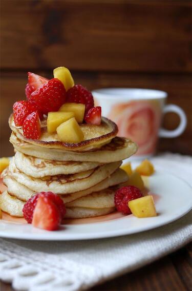 Pancake-Party! 25 kleine Seelenschmeichler aus der Pfanne