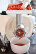 Pürieraufsatz der Ankarsrum Küchenmaschine © Flowers on my plate