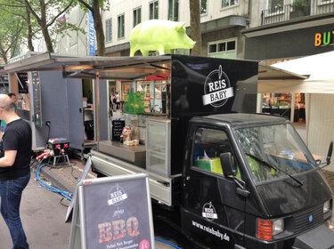 Foodtrucks Düsseldorf: Reis Baby