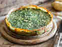 Kartoffeltorte mit Spinat und Ricotta