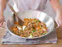 Gebratene Asia-Nudeln Chow Mein