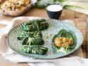 Vegane Mangold-Rouladen mit Quinoa-Füllung