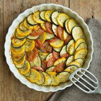 Zucchini-Tomaten-Auflauf mit Parmesan_featured