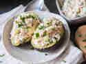 Gefüllte Lachs-Avocado