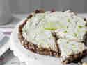 Limetten-Vanille-Cheesecakte
