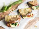 Auberginen-Sandwiches
