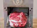 Steak, bevor es in den Beefer kommt