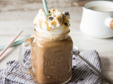 Gesalzener Karamell Latte