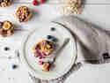 Bunte Frühstücksmuffins