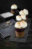 Schwarzwälder Kirsch Pots de Crème © Law of Baking