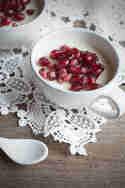 Weiße Schokoladen-Panna-Cotta © Flowers on my plate