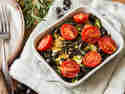 Ofen-Feta mit Kräutern